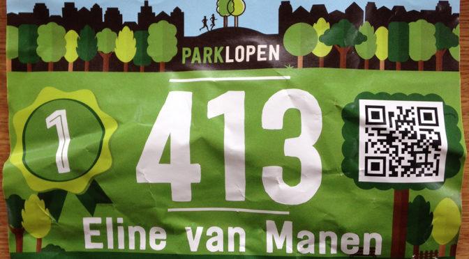 3 km wedstrijdje; Parkloop Arnhem
